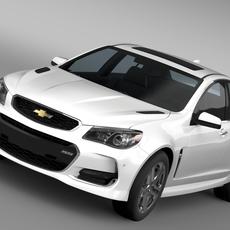 Chevrolet SS 2016 3D Model