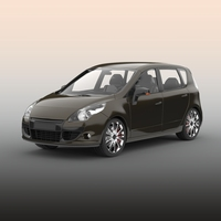Hatchback car 3D Model