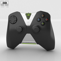 Nvidia Shield Wireless Controller 3D Model