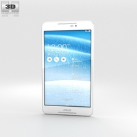 Asus Fonepad 8 (FE380CG) White 3D Model