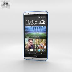 HTC Desire 820 Santorini White 3D Model