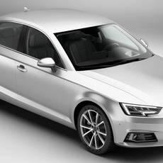 Audi A4 Sedan 2016 3D Model