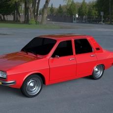 Renault 12 / Dacia 1300 HDRI 3D Model