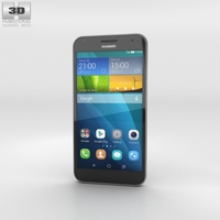 Huawei Ascend G7 Black 3D Model