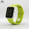 06 42 08 74 apple watch sport 38mm silver aluminium case with green sport band 600 0001 4