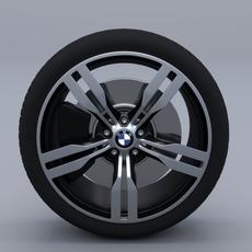 BMW Wheel G11 3D Model