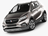 Buick Encore 2017 3D Model