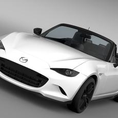 Mazda Roadster RS 2016 3D Model