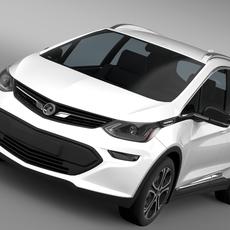 Vauxhall Ampera-e 2016 3D Model