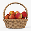 01 07 43 111 004 wicker basket04n apples  4