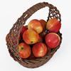 01 09 32 799 007 wicker basket04br apples  4