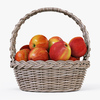 01 09 43 354 004 wicker basket04gr apples  4