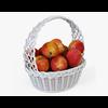 01 12 06 91 001 wicker basket04w apples  4