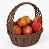 01 12 31 424 002 basket04 4color apples  4