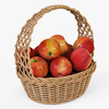 01 13 30 554 004 basket04 4color apples  4