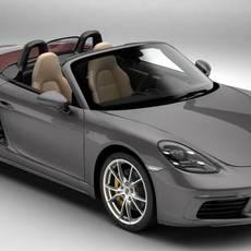 Porsche 718 Boxster 2017 3D Model