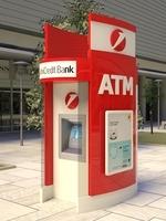ATM kiosk 01 3D Model