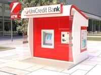 ATM kiosk 02 3D Model