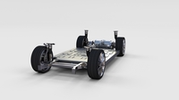 Tesla Model S Chassis rev 3D Model
