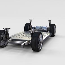 Tesla Model S Chassis rev 3D Model