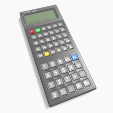 Generic Scientific Calculator 3D Model