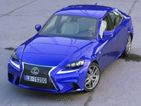 Lexus IS F-Sport 2016 3D Model