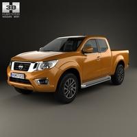Nissan Navara King Cab 2015 3D Model