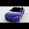 Tesla Model S P85 rev 3D Model
