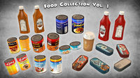 Food Collection 3D Model