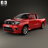 Toyota Tacoma X-Runner 2012 3D Model