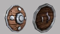 Fantasy Shield 04 3D Model