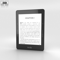 Amazon Kindle Voyage 3D Model