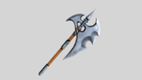 Fantasy Axe 01 3D Model