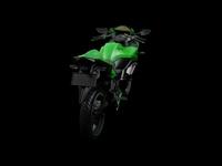 Kawasaki Ninja 250 3D Model