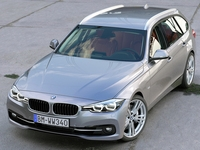 BMW 3 Series Touring 2016 3D Model