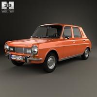 Simca 1100 1974 3D Model