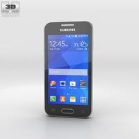 Samsung Galaxy Ace 4 Iris Charcoal 3D Model