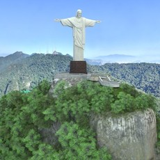 Christ The Redeemer 3D Model