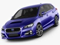 Subaru Levorg 3D Model