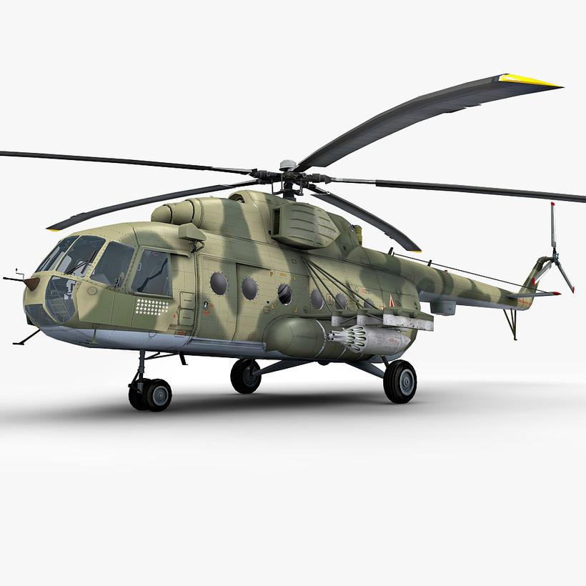 Elicottero Mi 8 : Mil mi helicopter d model