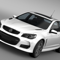 Holden Commodore SS V VF Series II 2016 3D Model