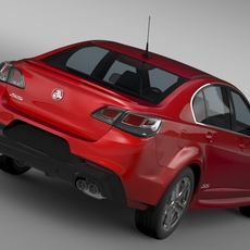 Holden Commodore SS VF Series II 2016 3D Model