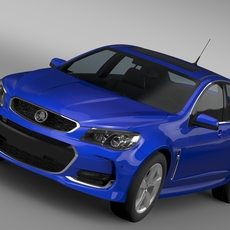Holden Commodore SV6 VF Series II 2016 3D Model