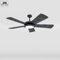 Ceiling Fan Marble 3D Model