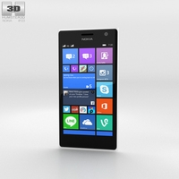 Nokia Lumia 730 White 3D Model