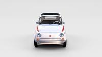 Fiat 500 Nuova Sport 1958 rev 3D Model