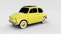 Fiat Nuova 500D 1960 rev 3D Model
