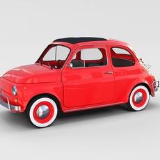 Fiat 500L Luxe 1968 rev 3D Model