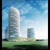 06 31 19 113 exterior office building scene 040 3 4