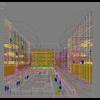 07 41 36 790 exterior office building scene 044 3 4